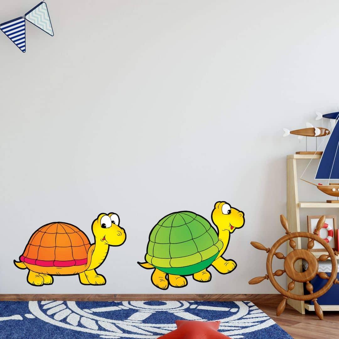Wandtattoo Schildkrötenpärchen