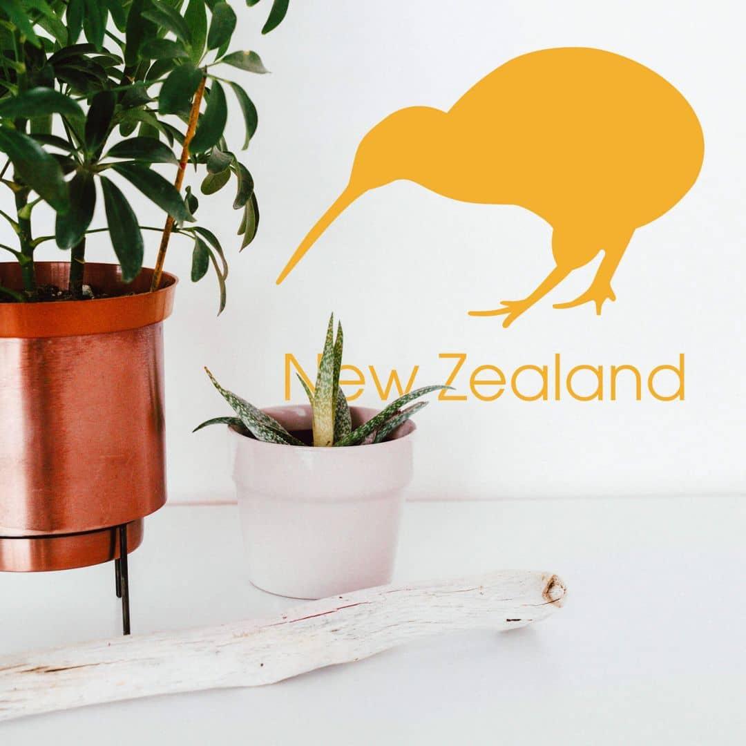 New Zealand - Kiwi Wall sticker