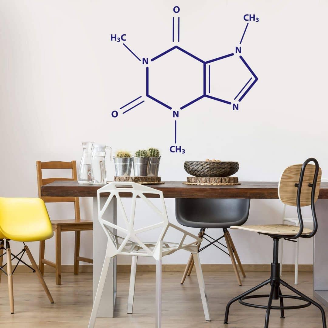 Adesivo murale - Caffeina