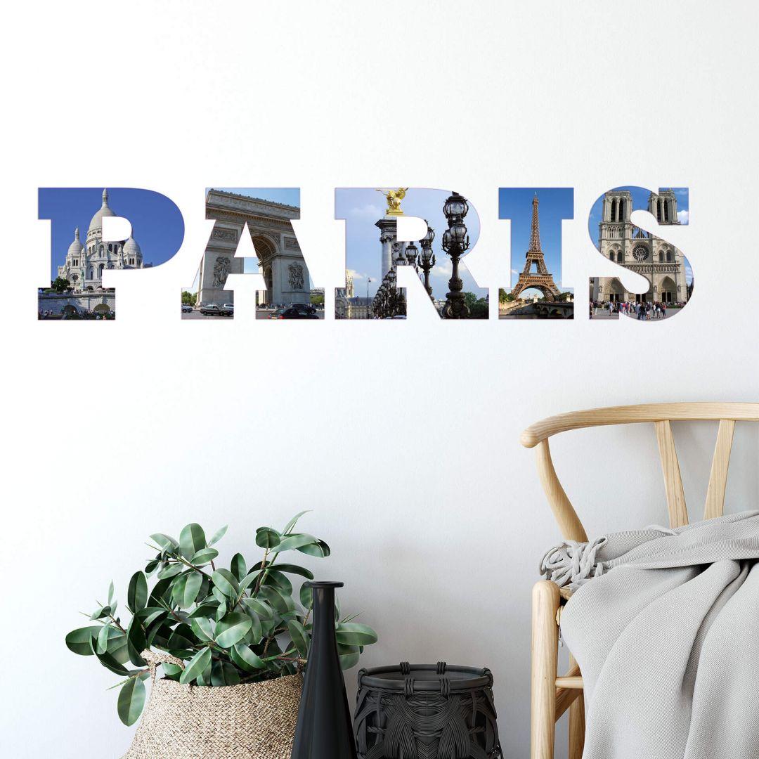 Impression Paris Wall sticker