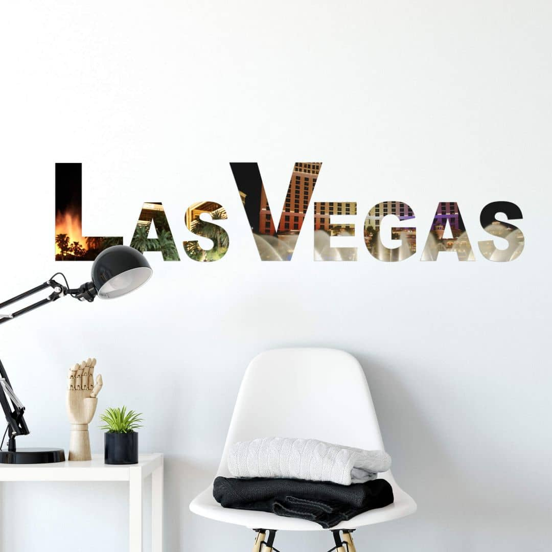 Wandtattoo Impressionen Las Vegas