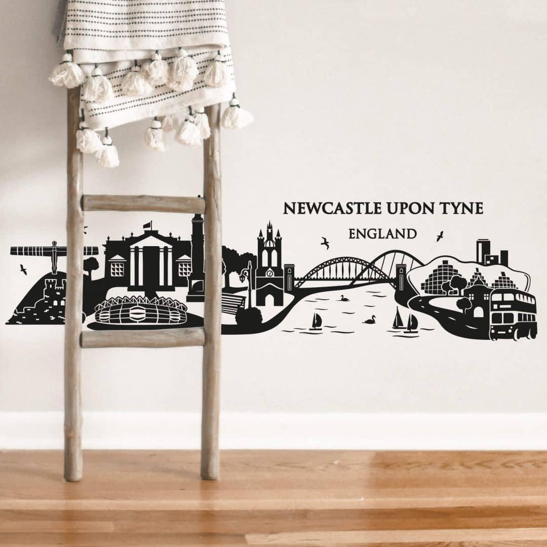 Newcastle upon Tyne Skyline Wall sticker
