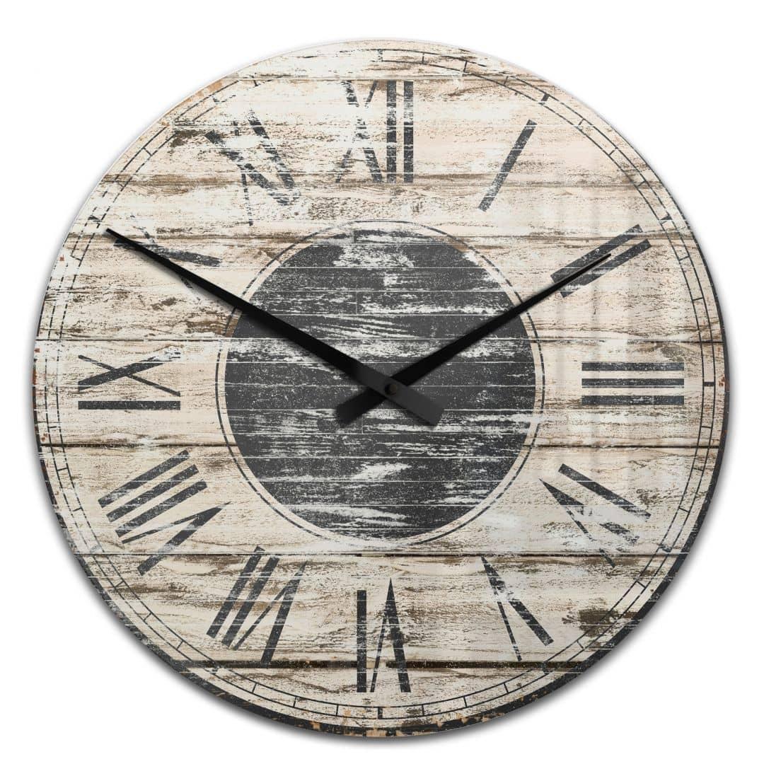 Acrlic Wall Clock Vintage 01