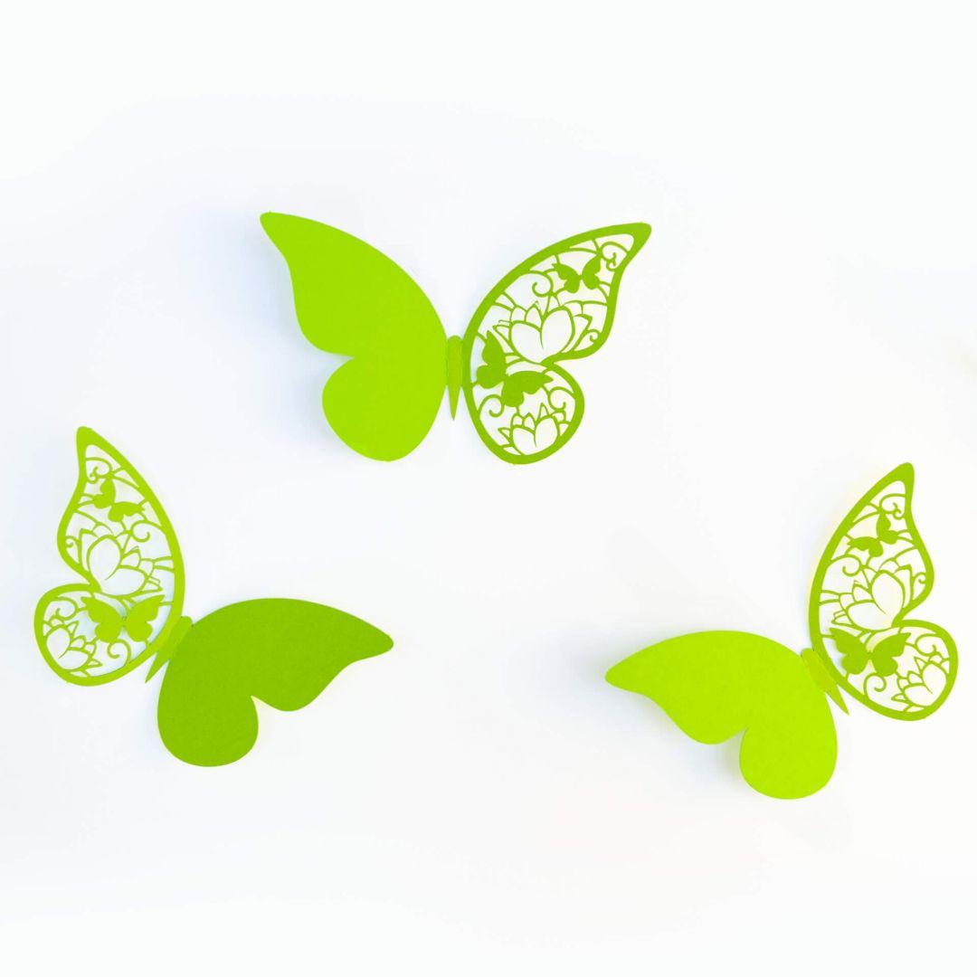 3D Vlinders 2 met Kleefpads