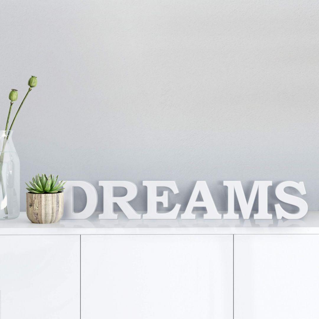 3D Dreams 1 3D letter