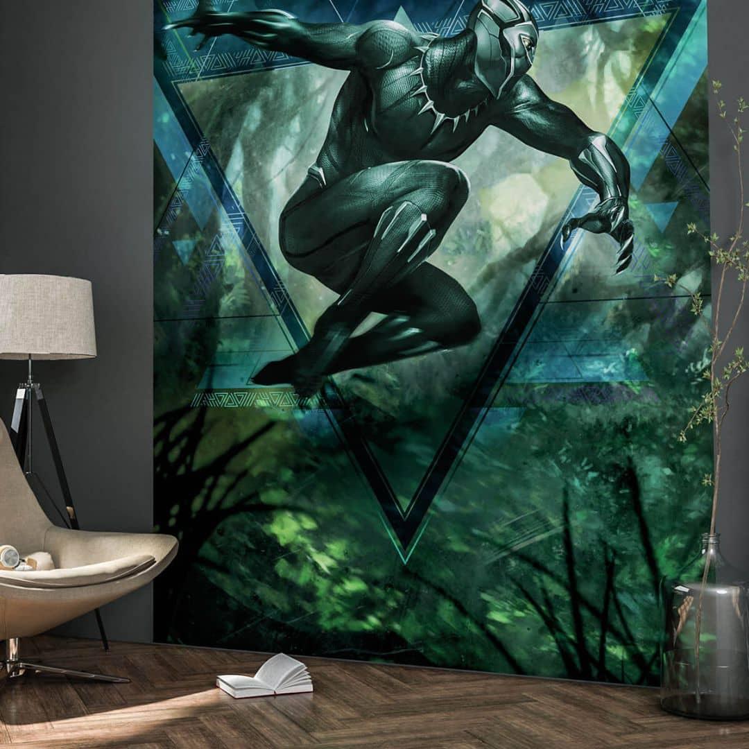 Fototapete Black Panther Jungle Beast