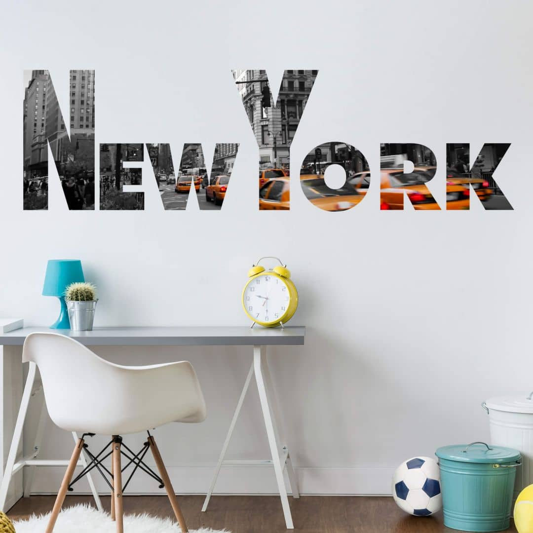 Großartig New York Wandtattoo Dekoration Von Impression Wall Sticker