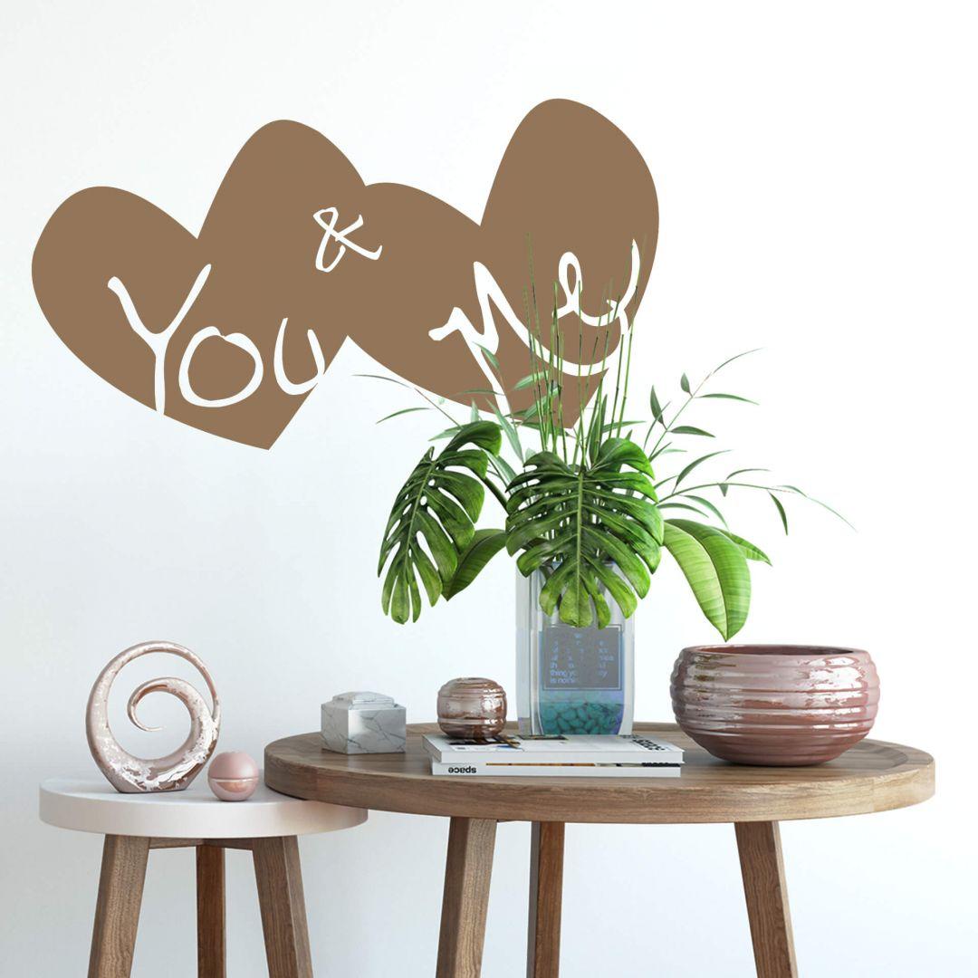 Adesivo murale - You & Me