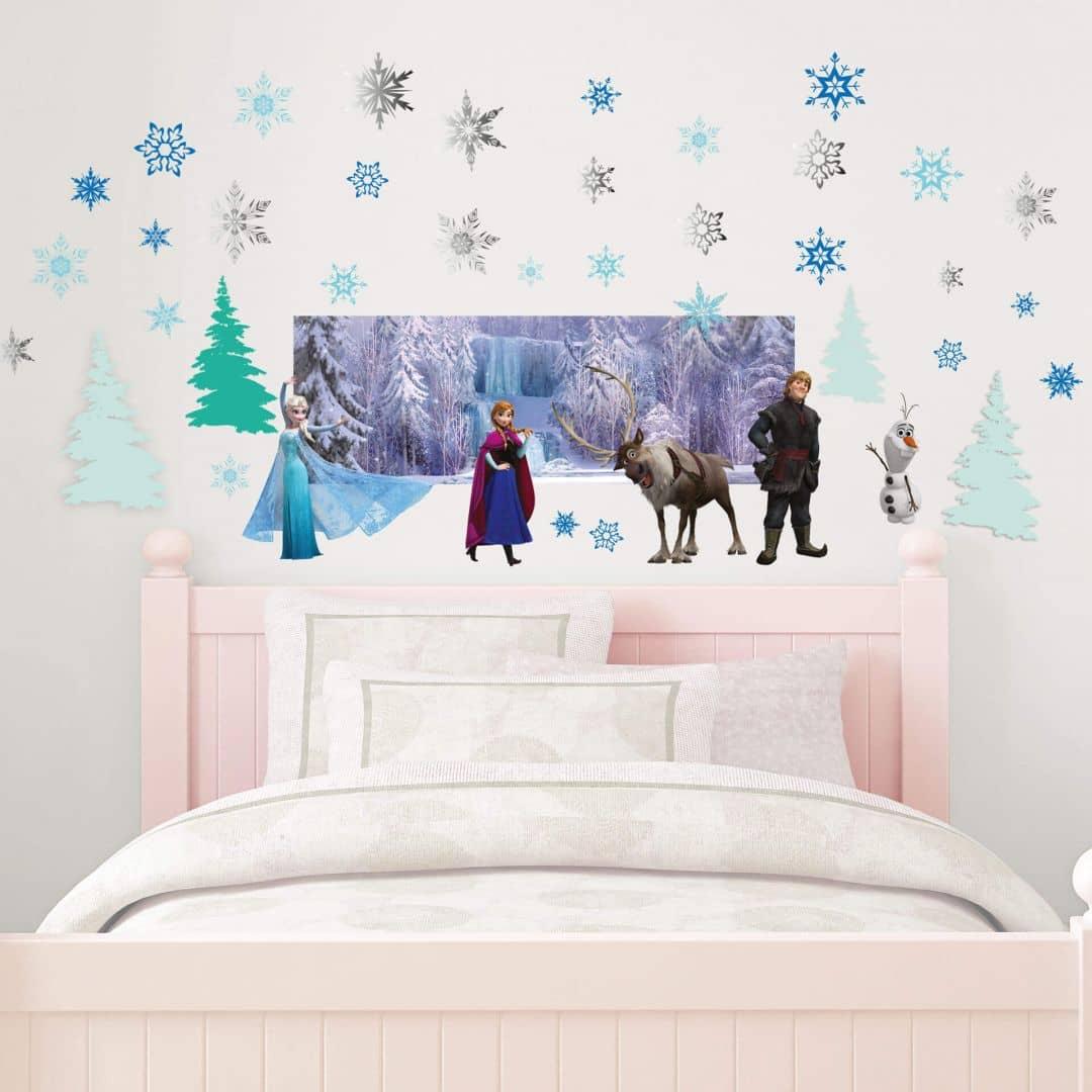 Muursticker Frozen Set De IJskoningin