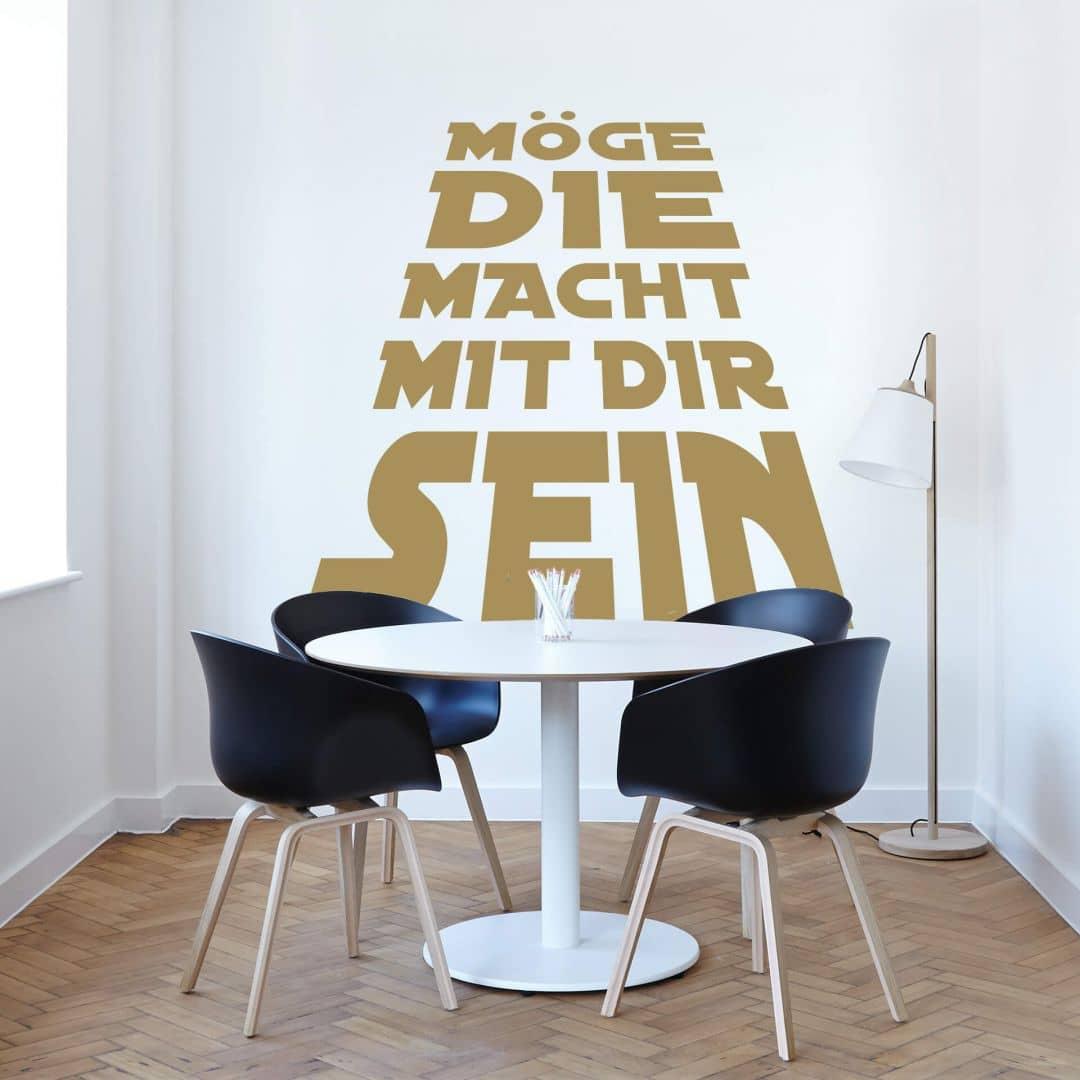 Wandtattoo Möge die Macht mit dir sein! von K&L Wall Art