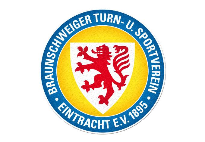 Anti-Rutschsticker Eintracht Braunschweig Logo (1-teilig)
