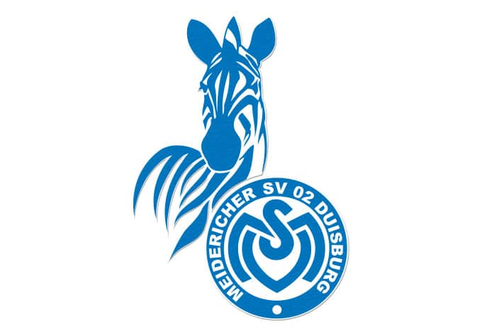 Anti-Rutschsticker MSV Duisburg Logo