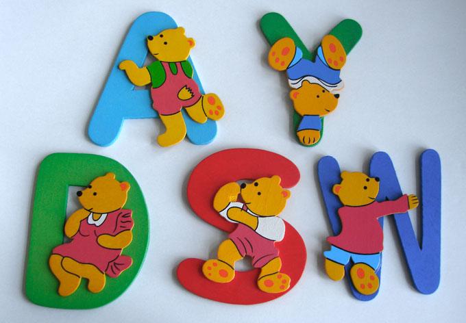 Kids Deco Letters - Bears