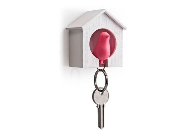 Schlüsselhalter Spatz