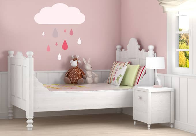 wandtattoo colourful drops girls dekoration f r das kinderzimmer wall. Black Bedroom Furniture Sets. Home Design Ideas