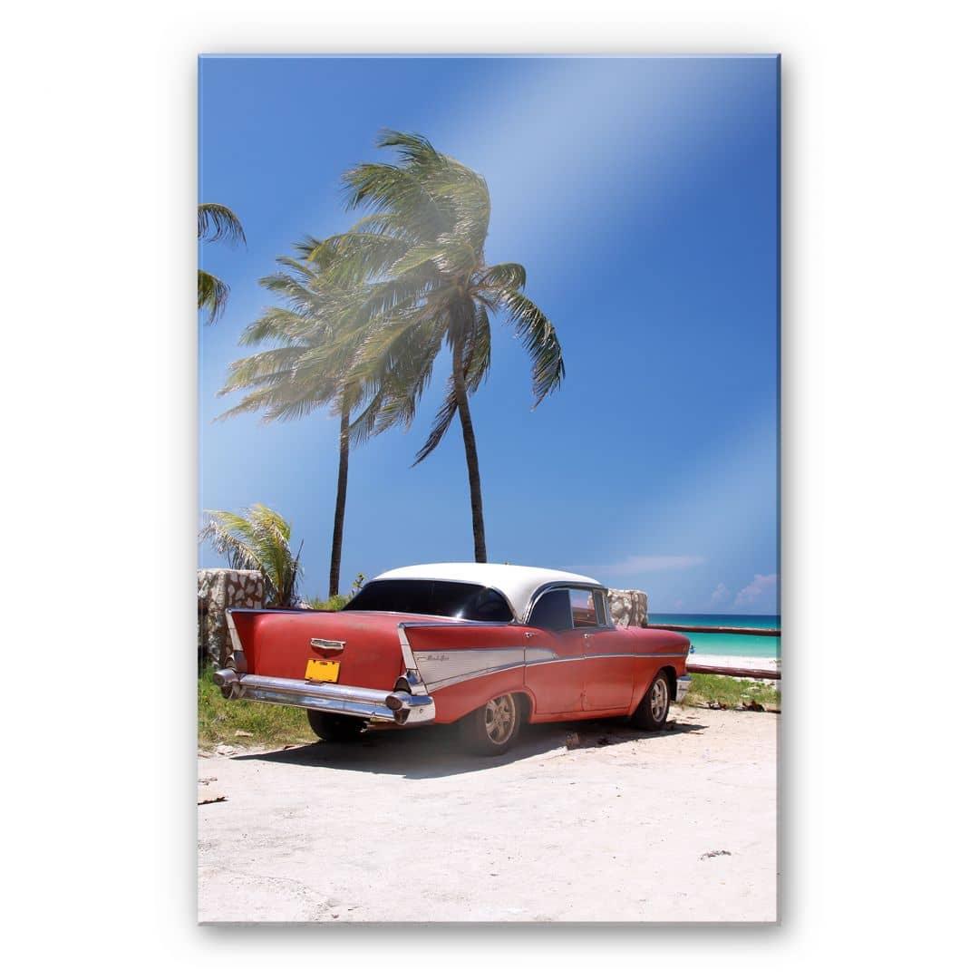 xxl wanddecoratie acrylglas cuba cabrio