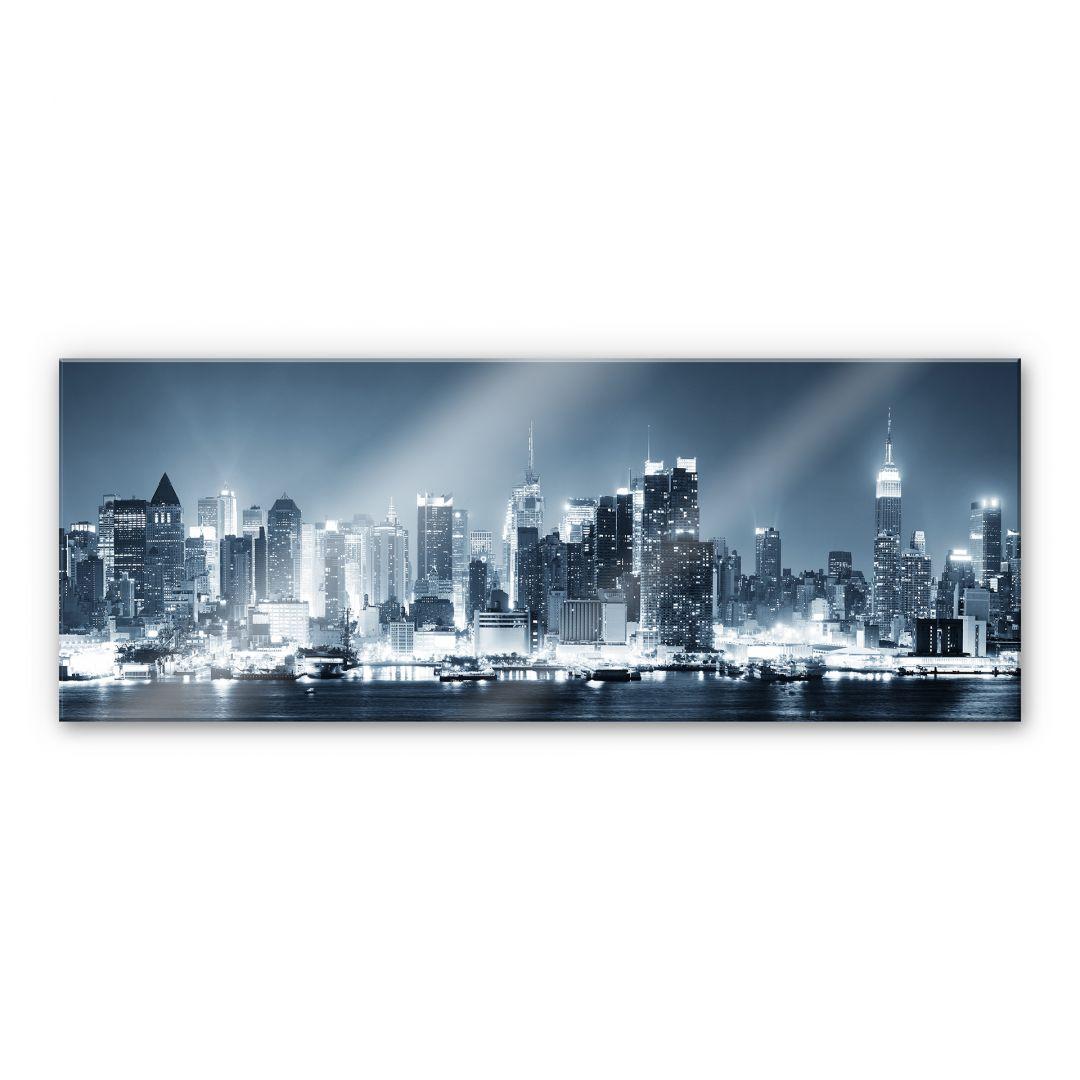 XXL Wandbild New York at Night 1 - Panorama