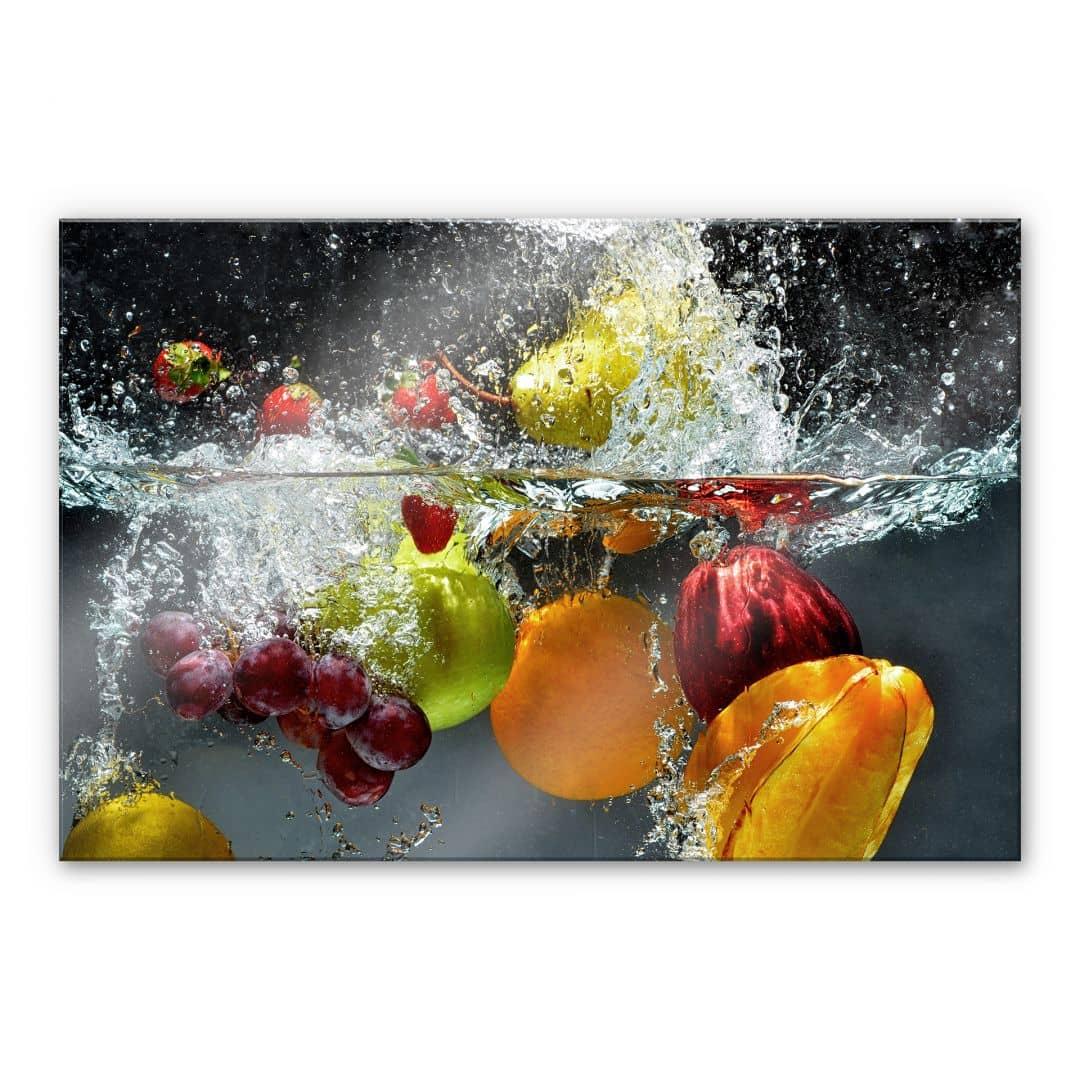 XXL Wandbild Erfrischendes Obst