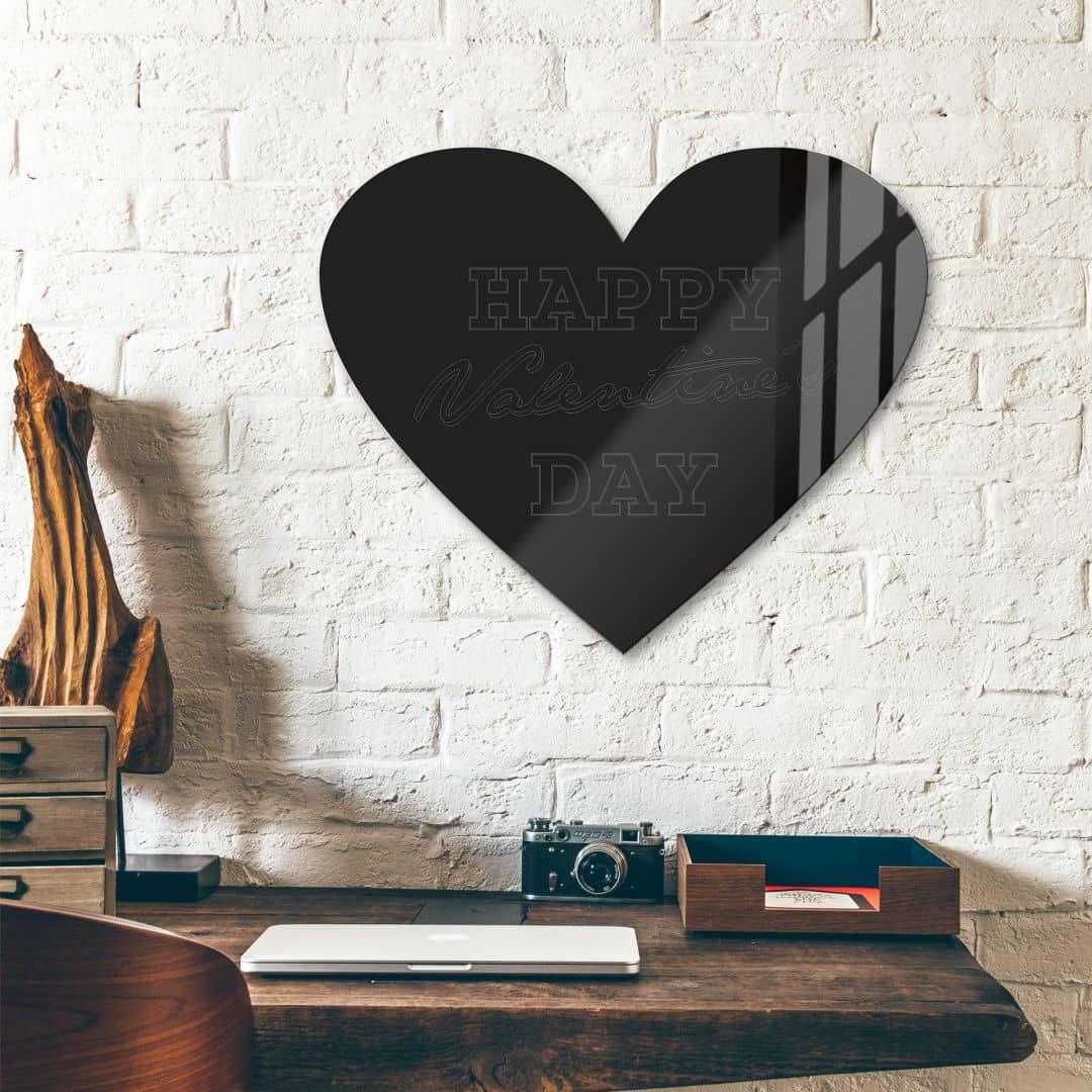 Happy Valentine's Day – Acrylglas