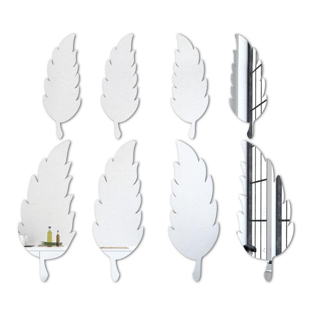 Wandspiegel Spiegel Feder-Set