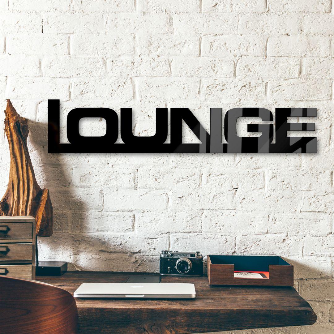 Decoratieletters Acrylglas Lounge