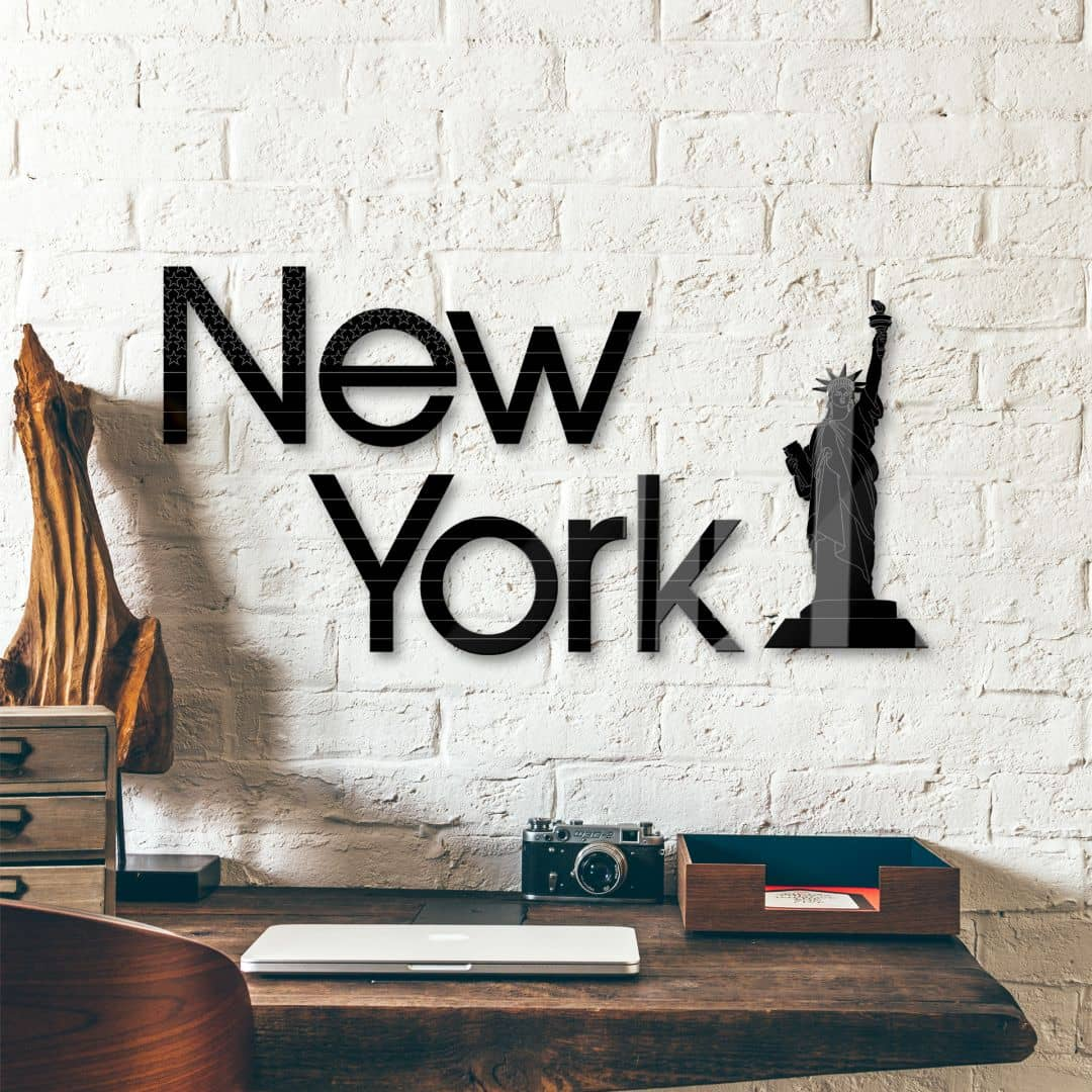 New York -  Statue of Liberty Acrylic letters