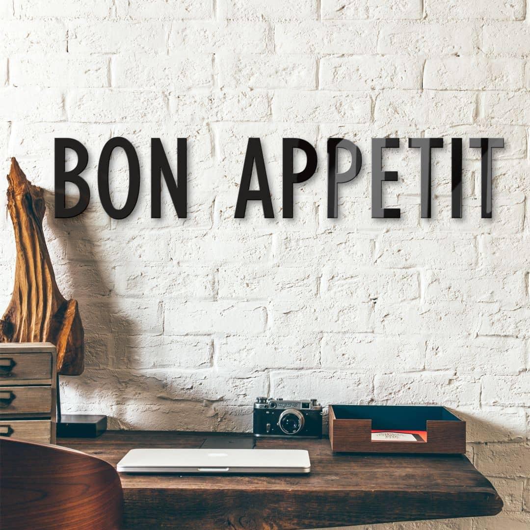 Bon Appetit – acrylglas