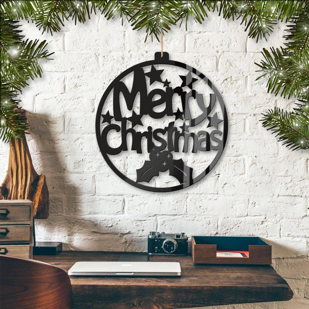 Acryldeko Merry Christmas