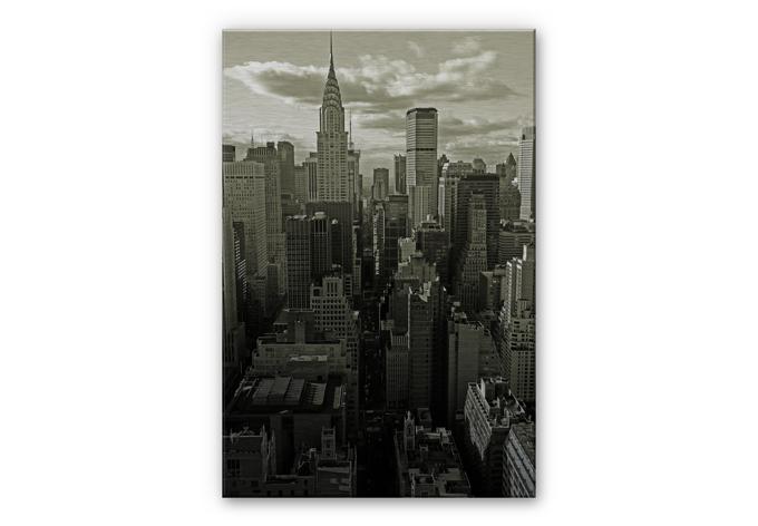 Alu-Dibond Bild Manhattan 2