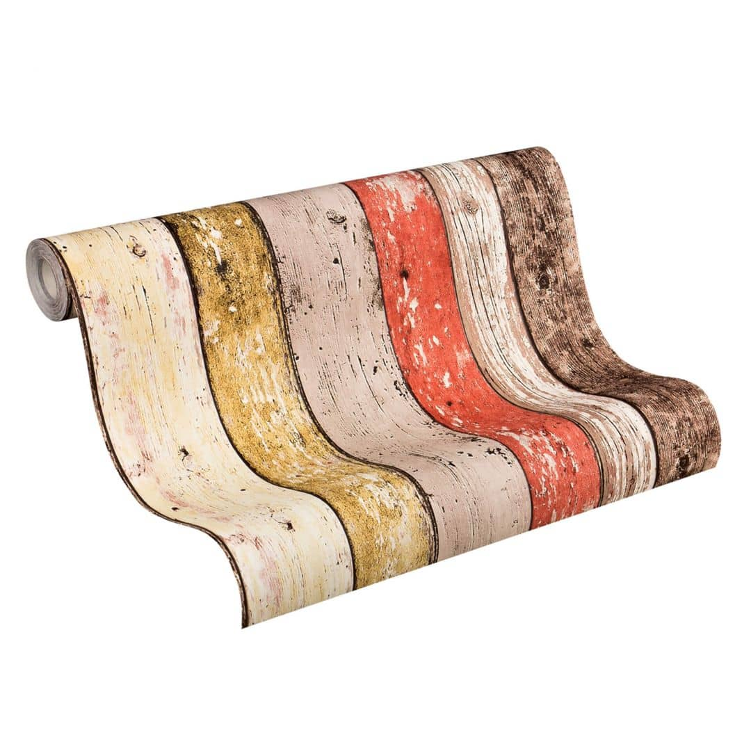 A.S. Création Tapete Best of Wood`n Stone 2nd Edition beige, braun, rot