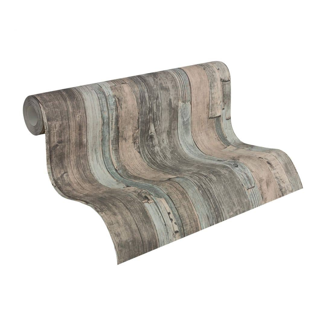 A.S. Création non-woven wallpaper Best of Wood`n Stone 2nd Edition multicolored