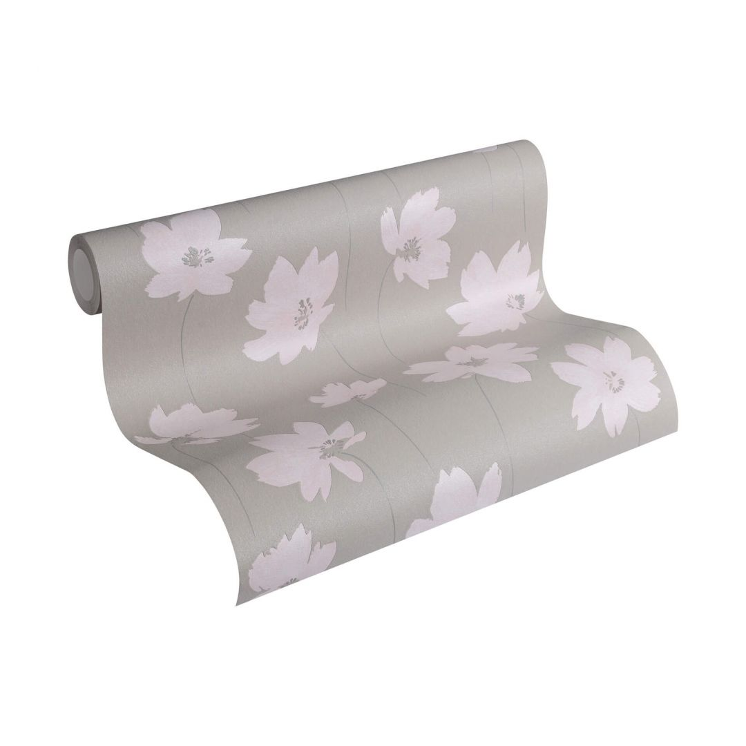 a s cr ation vliestapete life 4 beige braun rosa 301001. Black Bedroom Furniture Sets. Home Design Ideas