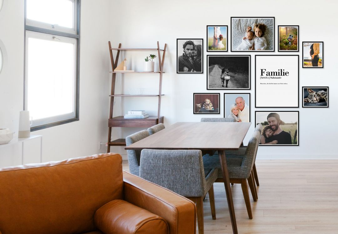 Bilderrahmen-Set - tolle Präsentationsmöglichkeit für Fotos! | wall ...