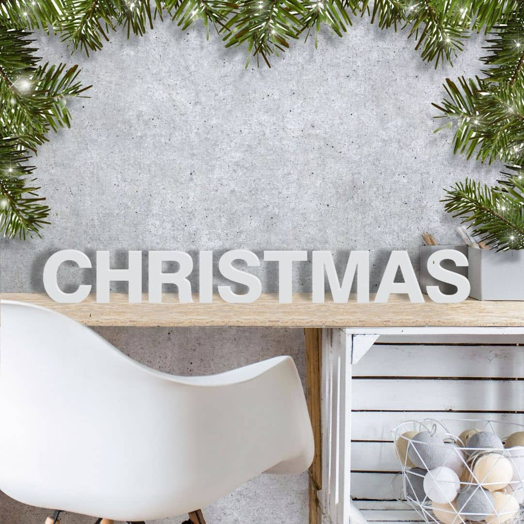 Decoratieletters 3d christmas for Scritta christmas in legno