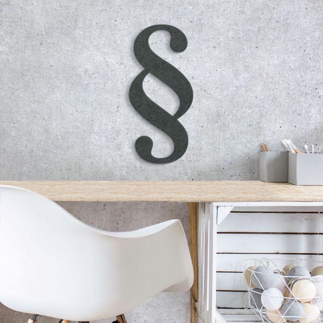 MDF-Holzbuchstaben Paragraph - Deko mit 3D Buchstaben | wall-art.de
