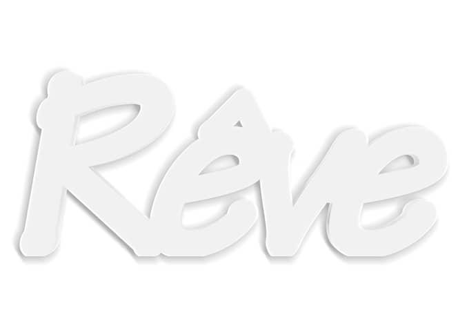 Lettres d coratives 3d r ve for Meuble 70x30