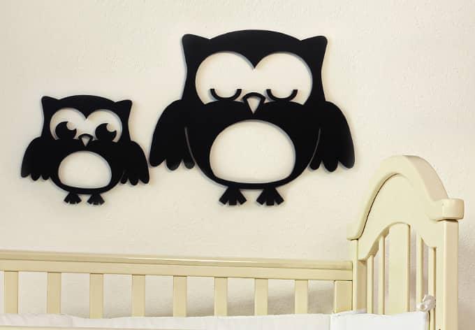 3D - Dream Owls 3D letter