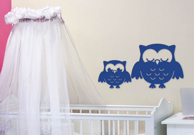 3D - Night Owls 3D letter