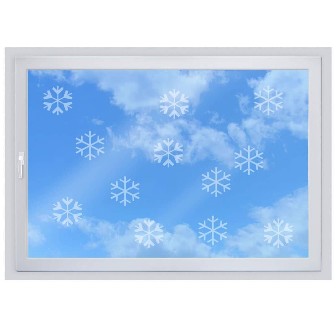 Fensterdekor Schneeflöckchen