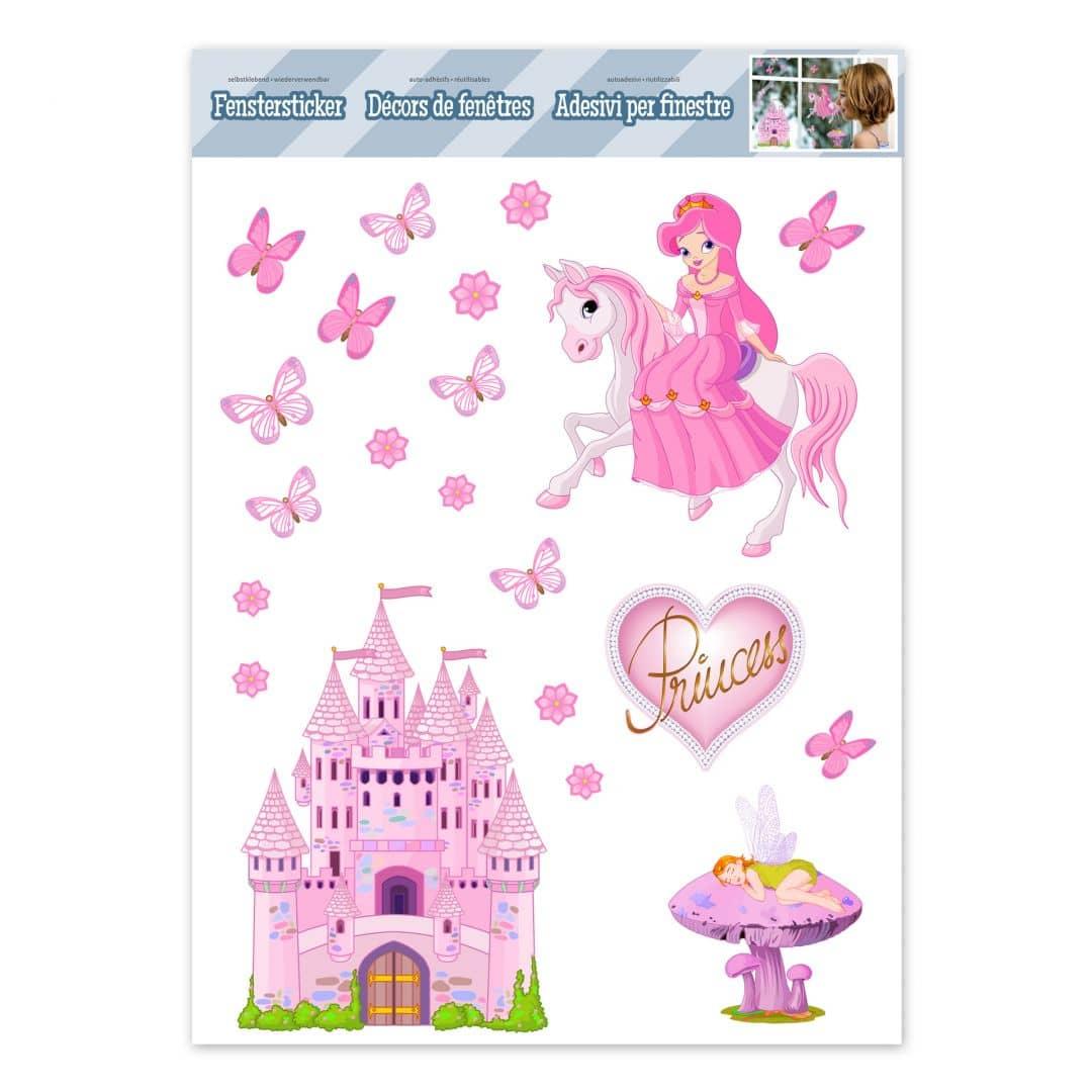 Raamstickers Prinsessen Set
