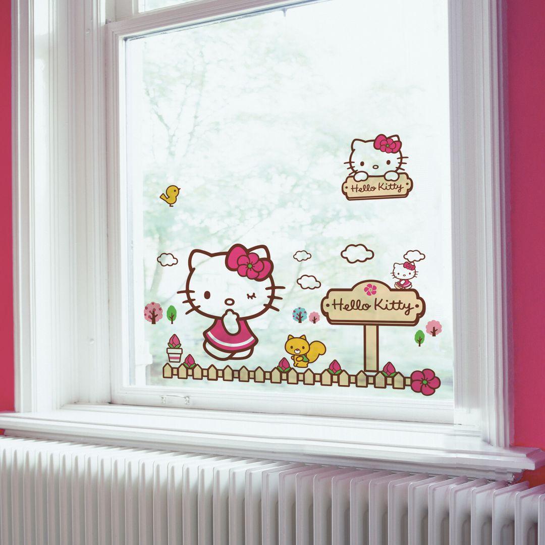 Raamstickers Hello Kitty