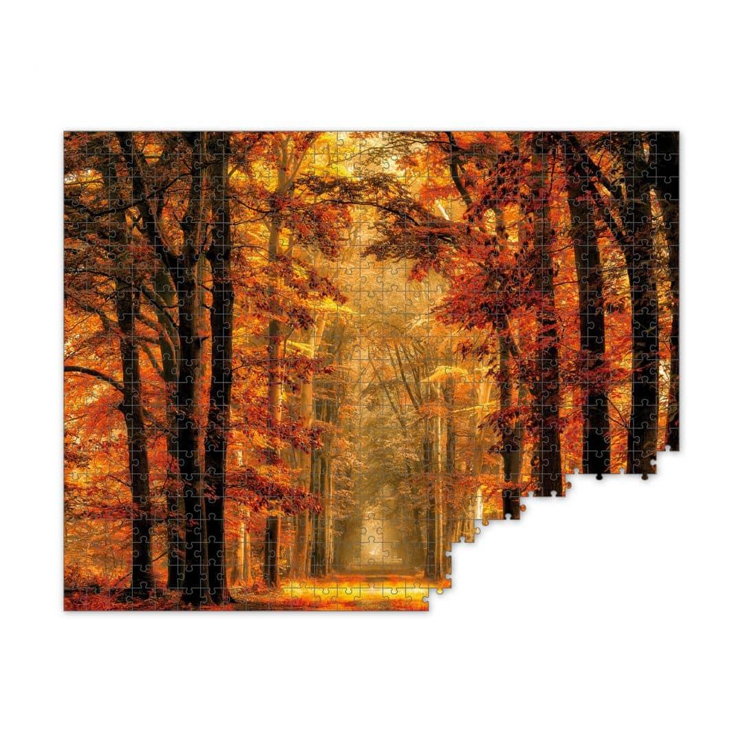 Fotopuzzle van de Goor - Herbstallee