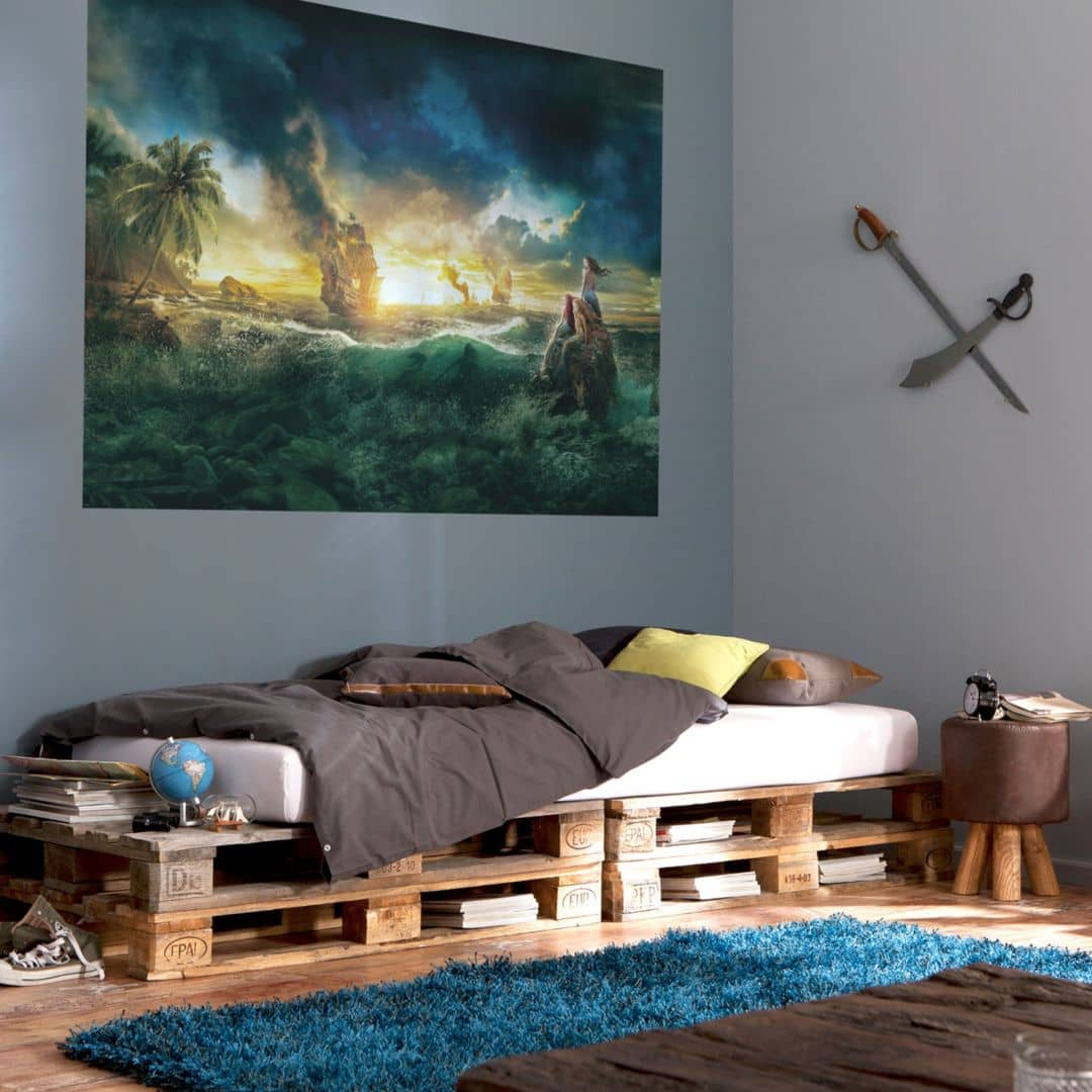 fototapete papiertapete pirates of caribbean 1 408 wall. Black Bedroom Furniture Sets. Home Design Ideas