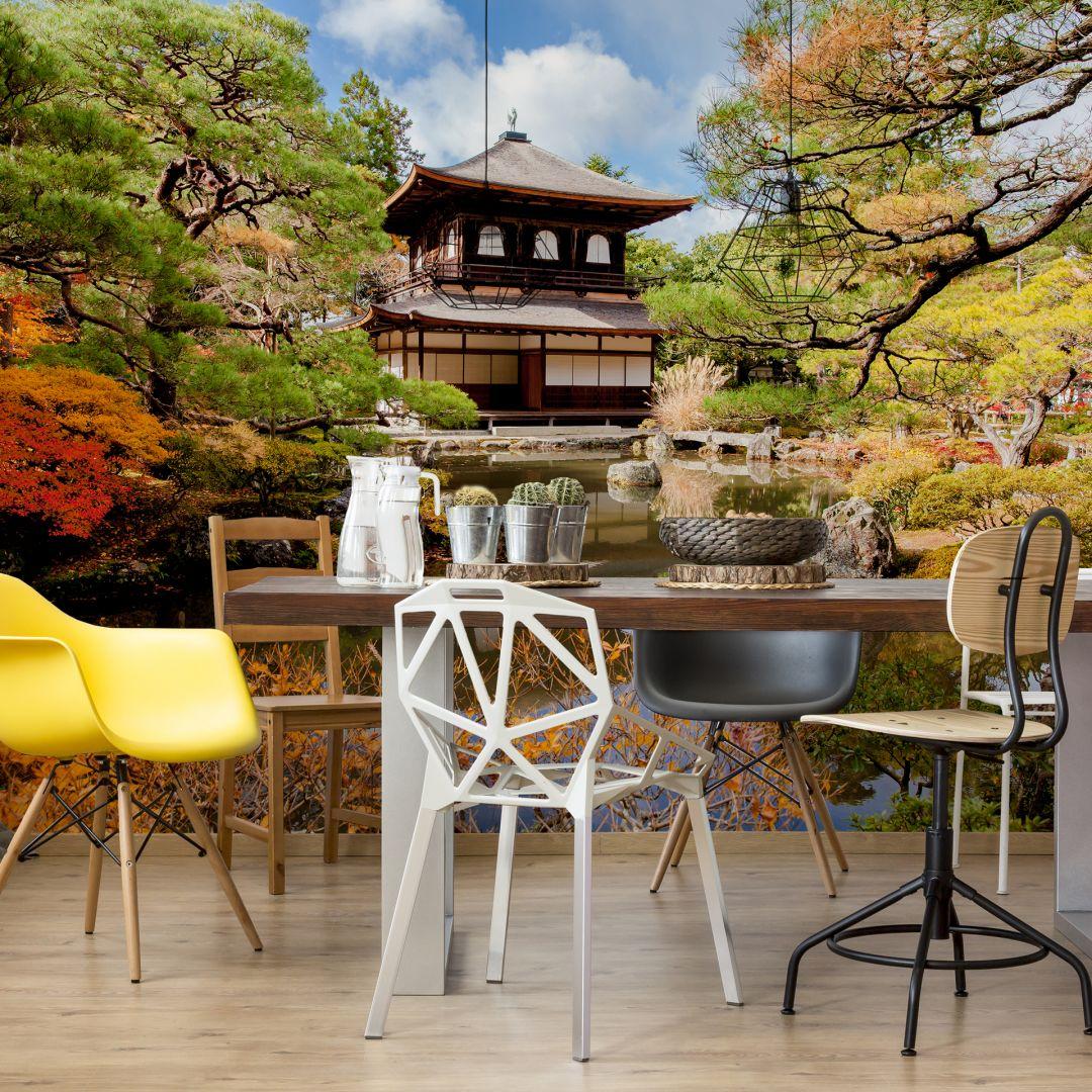 Fototapete Japanischer Tempel 2 von K&L Wall Art | wall-art.de