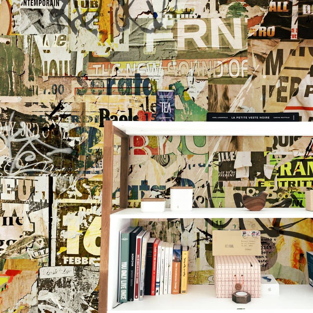 papier peint photo collage affiches wall. Black Bedroom Furniture Sets. Home Design Ideas