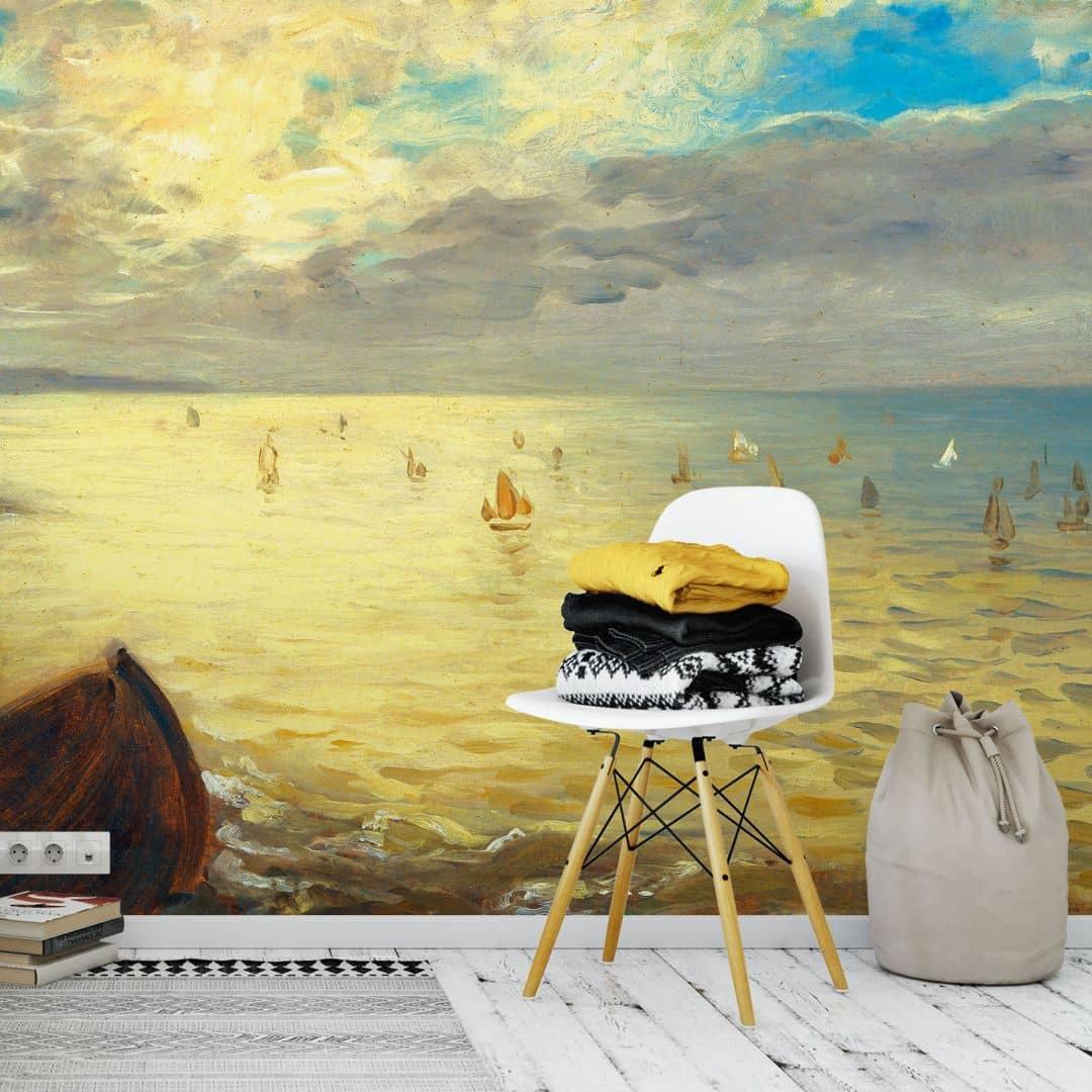Fotomurale Delacroix - Il mare