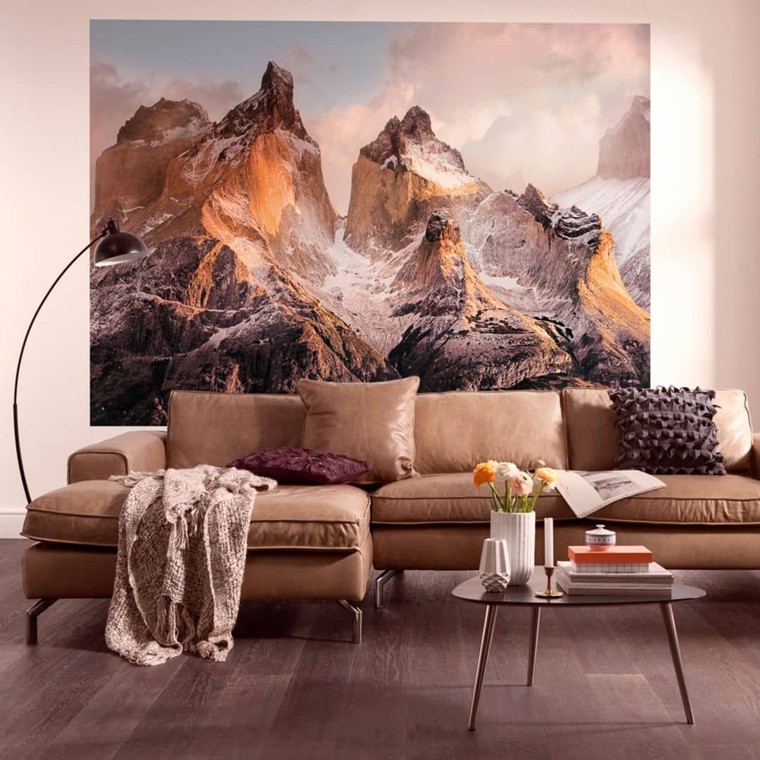 fototapete papiertapete torres del paine 4 530 wall. Black Bedroom Furniture Sets. Home Design Ideas
