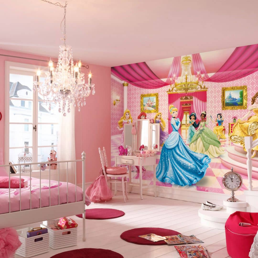 fototapete papiertapete disney princess ballroom 8 476 wall. Black Bedroom Furniture Sets. Home Design Ideas