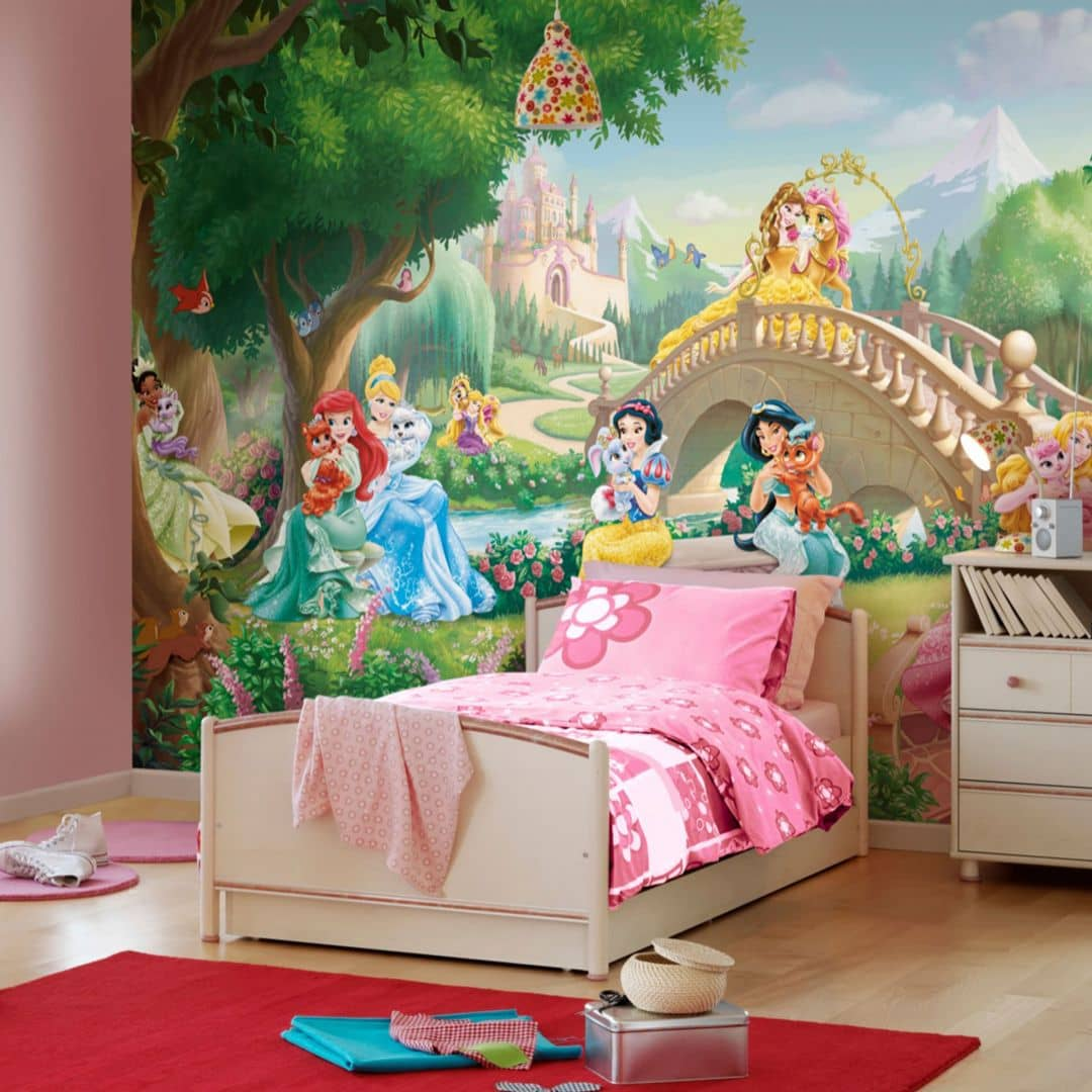 Fototapete Disney Princess Palace Pets