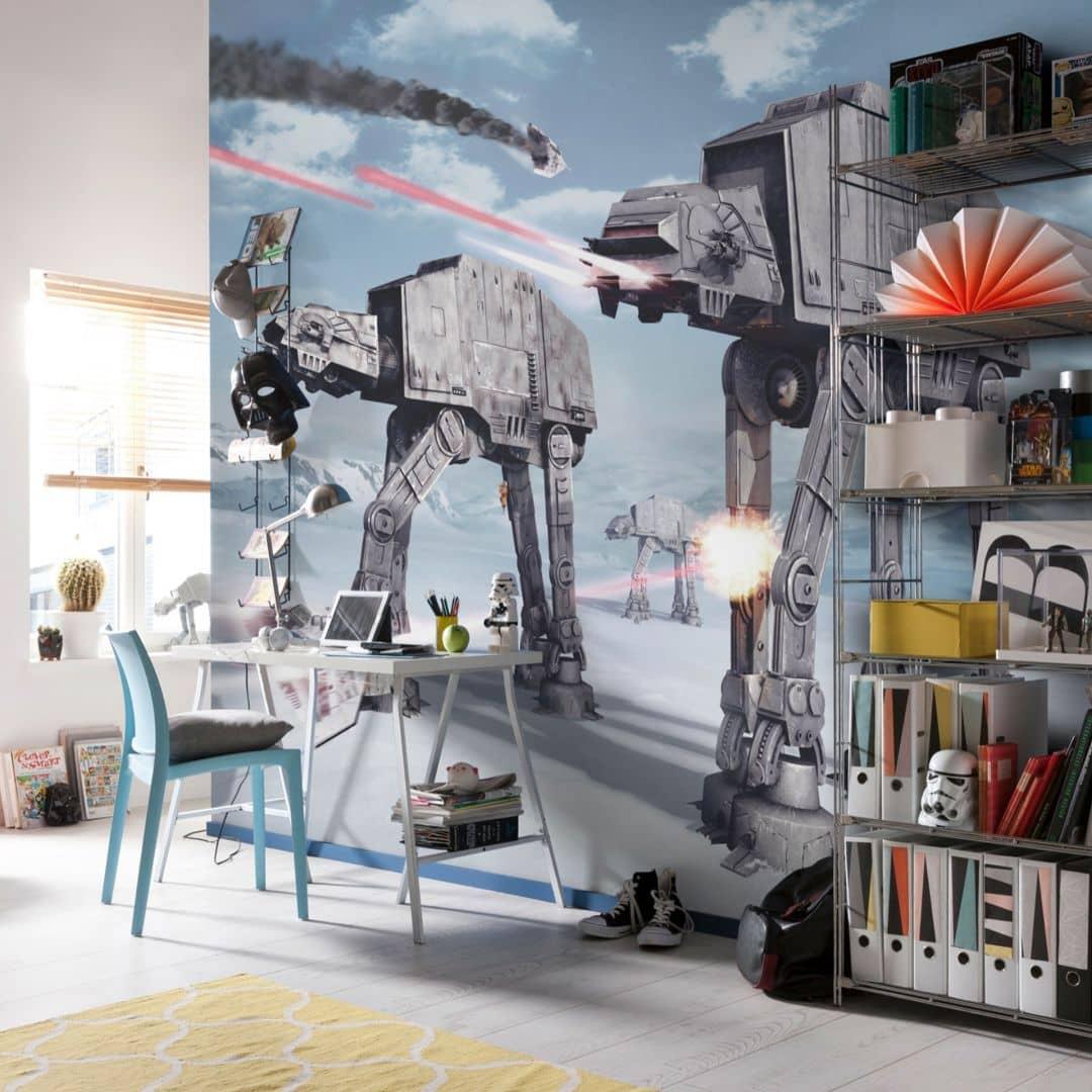 Fotobehang Papierbehang Star Wars Battle of Hoth